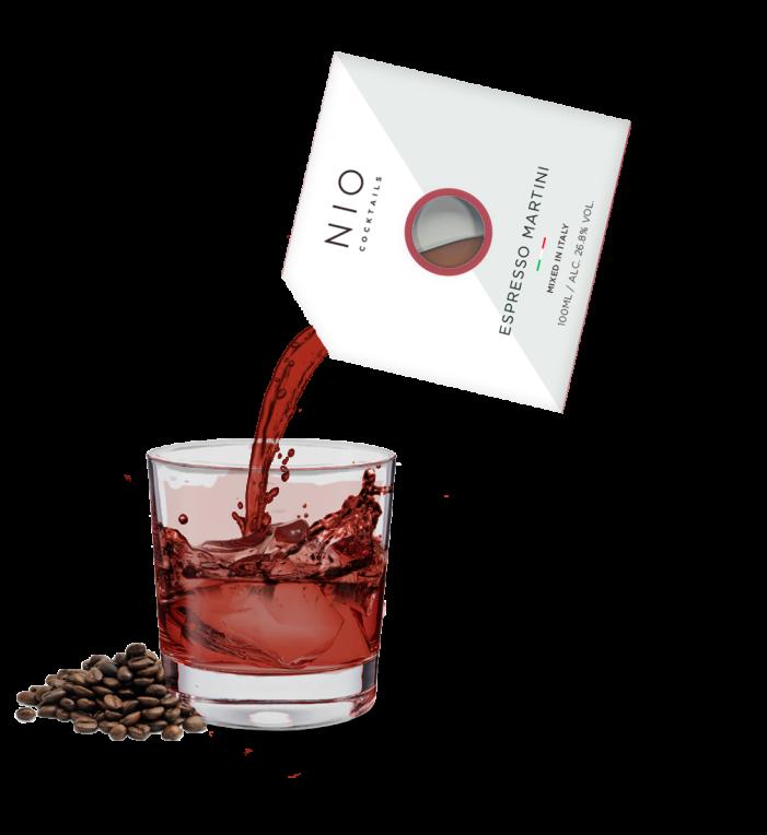 NIO Cocktails adds Espresso Martini to its RTD range