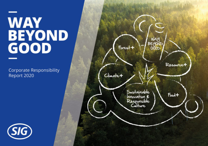 SIG reports progress on journey Way Beyond Good and aims to go even further for people and planet