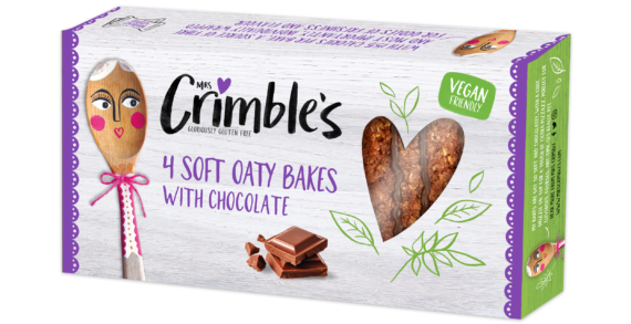 Mrs Crimble's Innovates With New Vegan-Friendly Soft Oaty Bakes With Chocolate