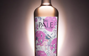 For the flamboyant soirée: Design Bridge creates branding for The Pale, a new rosé concept from renowned winemaker Sacha Lichine