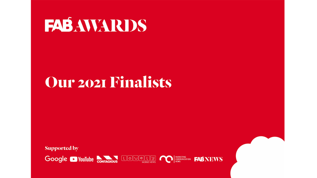The FAB Awards Finalists