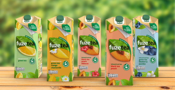 Netherlands: Fuze Tea – first iced tea brand filled in SIGNATURE packaging solution from SIG