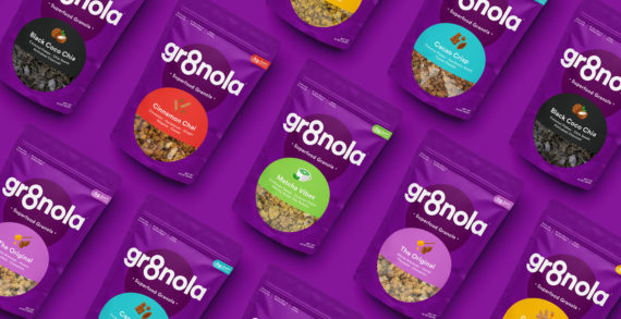Deuce Studio Refreshes Packaging for US Superfood Granola Brand