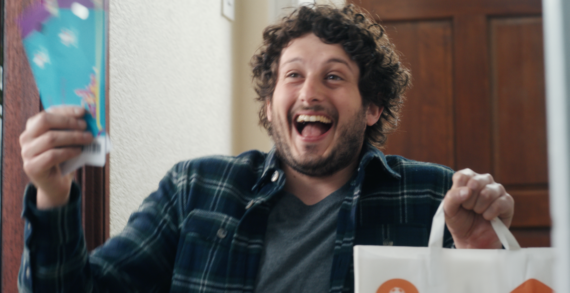 Just Eat Takeaway.com delivers joy through the magic of the knee slide in UEFA EURO 2020™ticket giveaway campaign