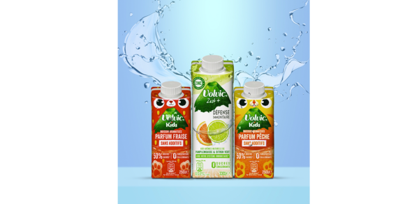 SIG's unique on-the-go combismile carton pack enters French market with new Volvic fruity flavoured ranges