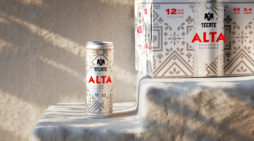 Tecate partners with Pearlfisher to create a new sub-brand of premium light beer, Tecate ALTA