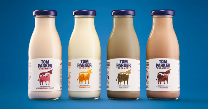 White Bear creates new brand identity for Tom Parker Creamery