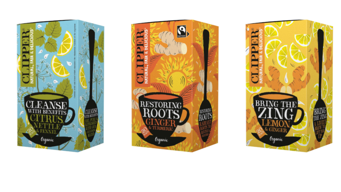 CLIPPER Launches New And Improved Organic Mood Infusions That Are Better For People And The Planet