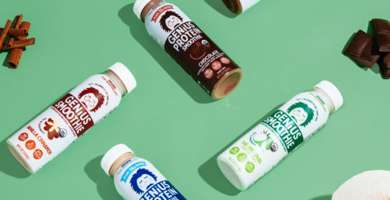 ROOK/NYC designs playful packaging refresh for Shark Tank success story, Genius Juice