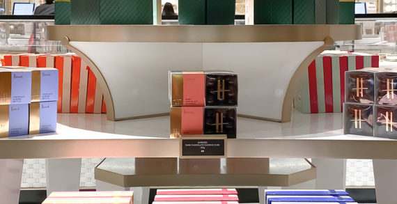 Smith&+Village designs delight visitors to Harrods' new Chocolate Hall