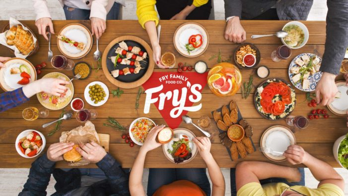 Fry's Family Foods shows the love with new identity by Sunhouse