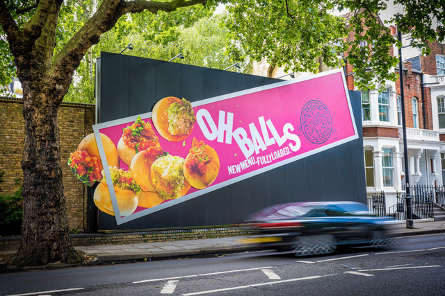 OH BALLS: PizzaExpress and Truant create giant and 'explosive' OOH special builds for punchy relaunch