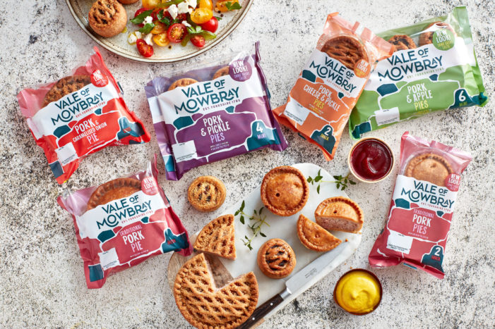 Chilli Creates New Look Vale Of Mowbray Branding And Packaging