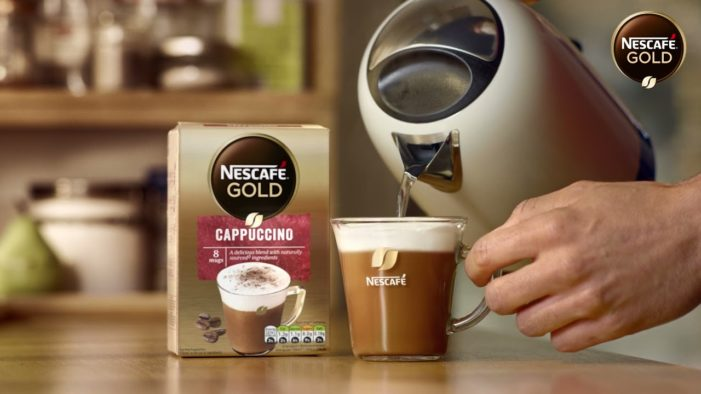 "NESCAFÉ Gold Cappuccino ""MAKE YOUR ME-MOMENT MATTER"""