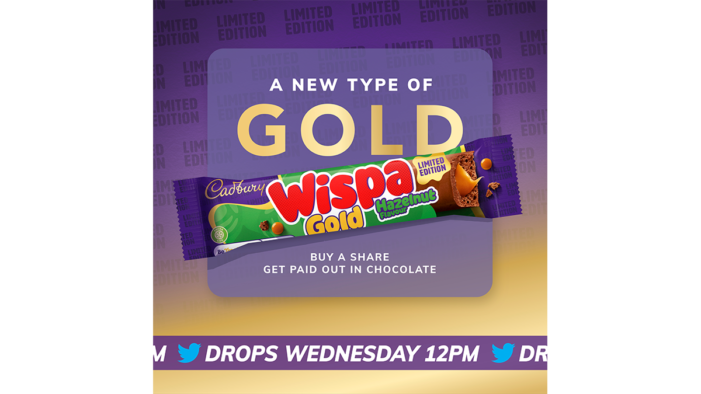Cadbury Wispa Gold and VCCP London launches 'A New Type of Gold'