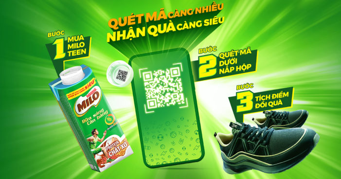 """QR codes in closure caps: Nestlé Vietnam opts for SIG's """"One Cap, One Code"""" solution to engage with Gen Z consumers"""