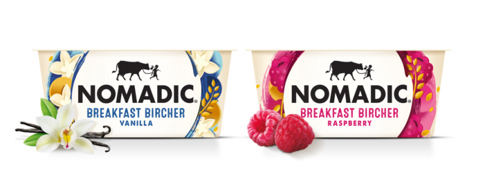 Nomadic Responds To Rise In Breakfast Occasions With Two New Bircher Flavours