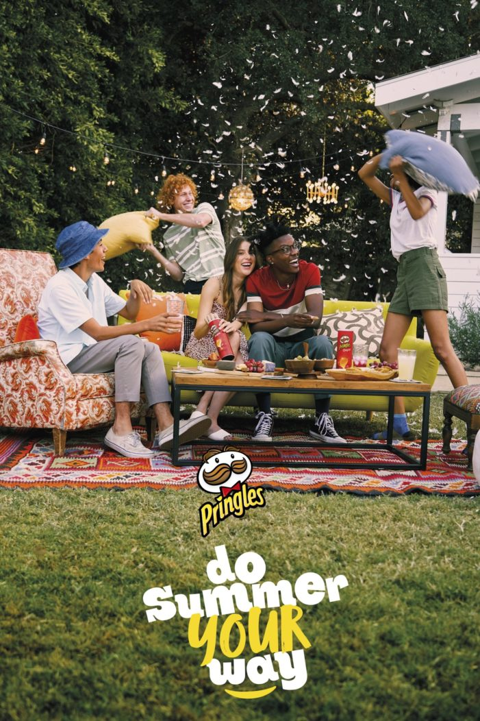 Pringles encourages audiences to 'Do summer your way' in upbeat multinational campaign by Grey London