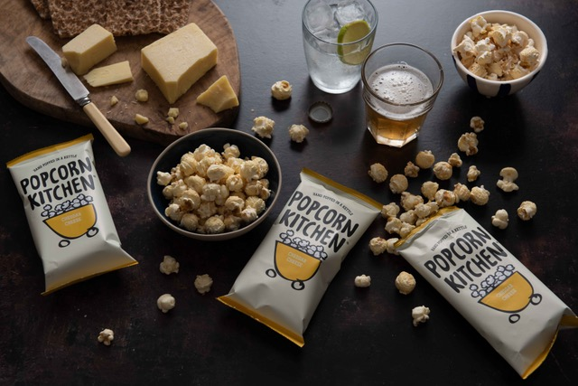 Top Notch Popcorn With an Authentic 'Cheddary' Twist