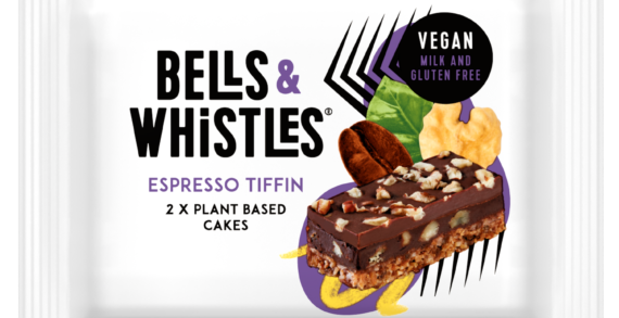 Bells of Lazonby Vegan Brand 'Bells & Whistles' Launches Espresso Tiffin Cakes In Sainsbury's
