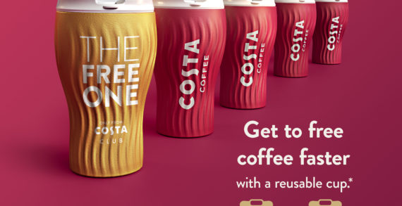 """COSTA COFFEE Unveils """"COSTA CLUB"""", A New Loyalty Proposition With Value At Its Heart"""