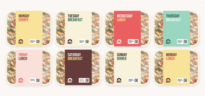 Self Studio Creates Branding And Product Design For A New Plant-Based De- livery Service That Will Revolutionise Nutrition.