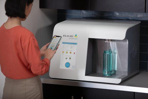 Gyre 9 Completes Touchless Beverage Dispenser Design For Elkay's Smartwell Line
