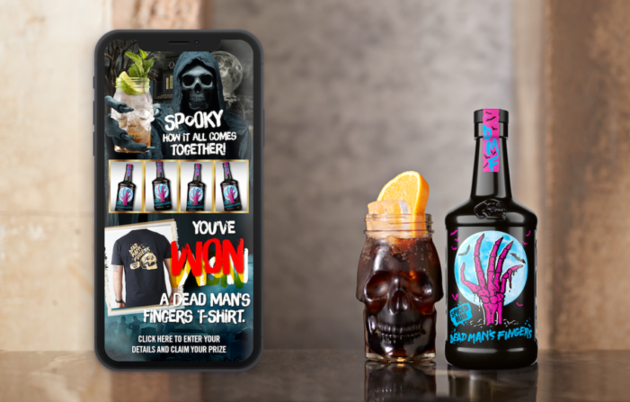 Dead Man's Fingers Launches Spookily Fun Halloween Fruit-Fright App Experience