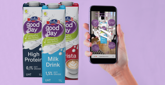 Emmi Good Day Launches New Sleeker AR Enabled Packaging Experience To Encourage Happy Healthy Lifestyles