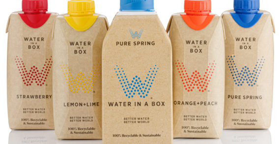 Water In A Box Launches 100% British Spring Water In Unique Carton Bottle Combidome From SIG In The UK